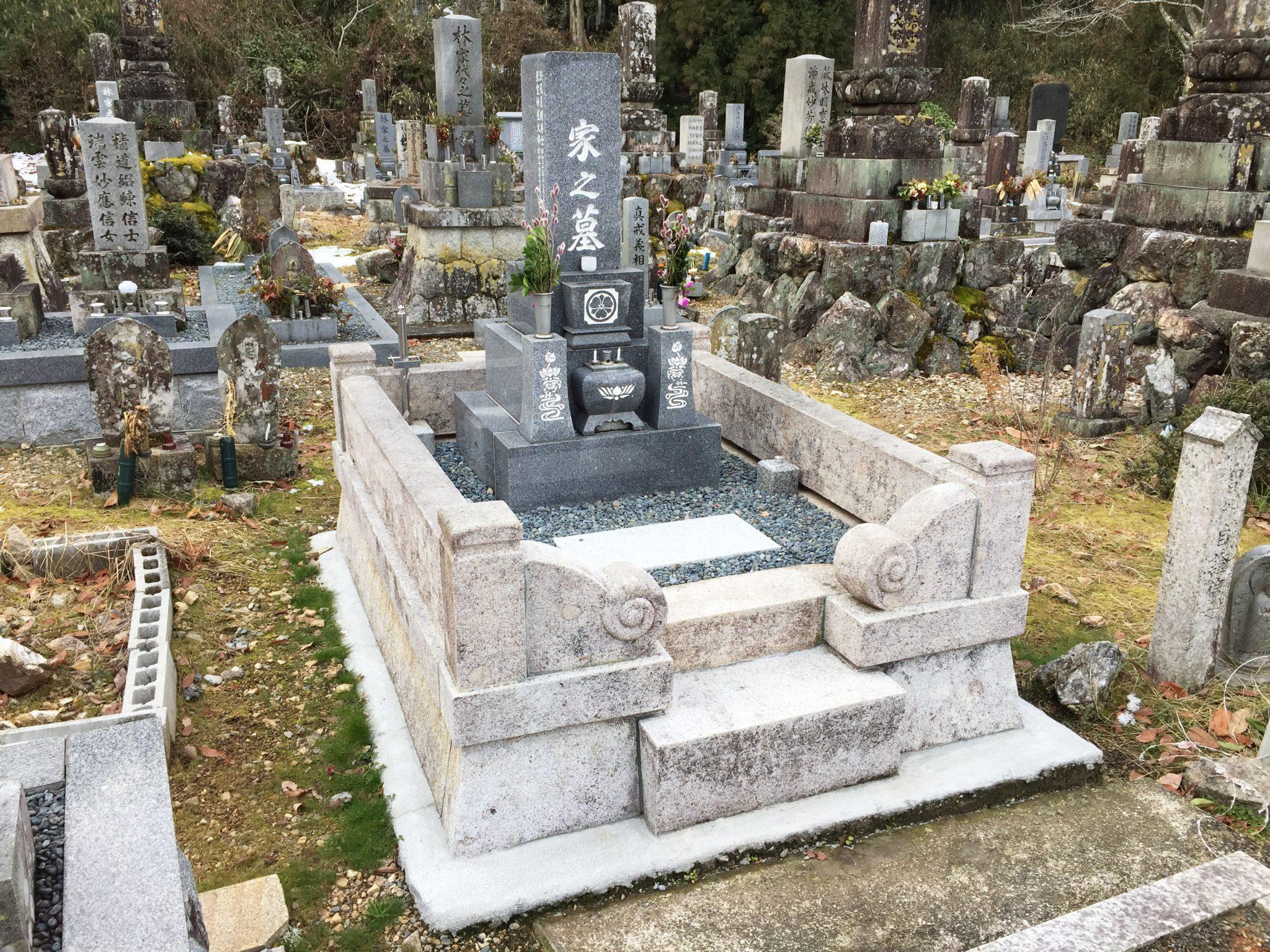 墓石移転 クリーニング工事