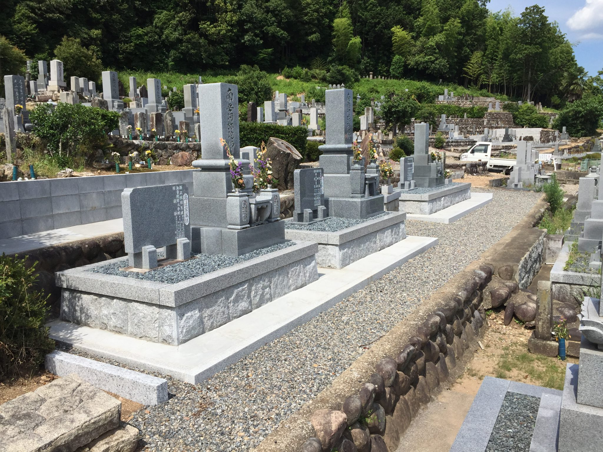 10寸 墓石 お墓のリフォーム工事