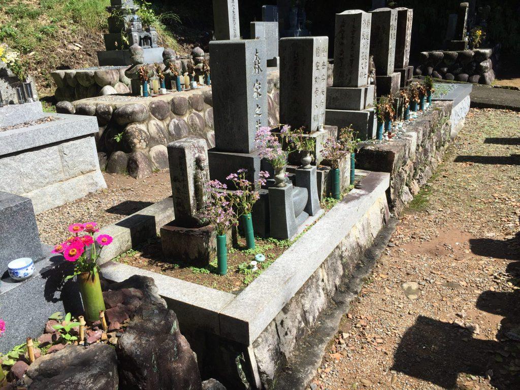 墓石の処分工事