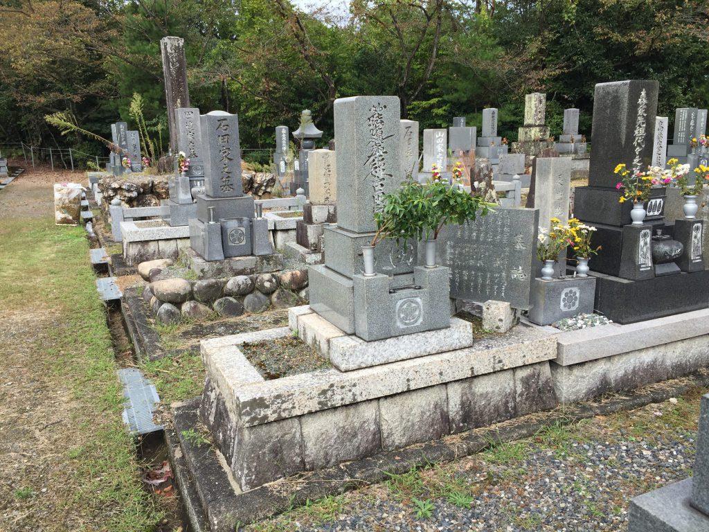 墓石の解体処分