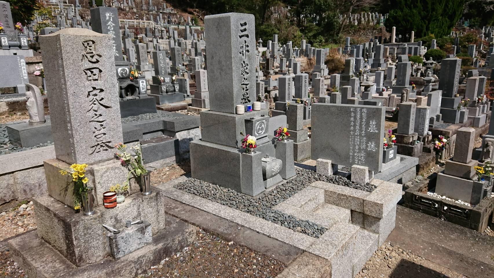 墓石の修理