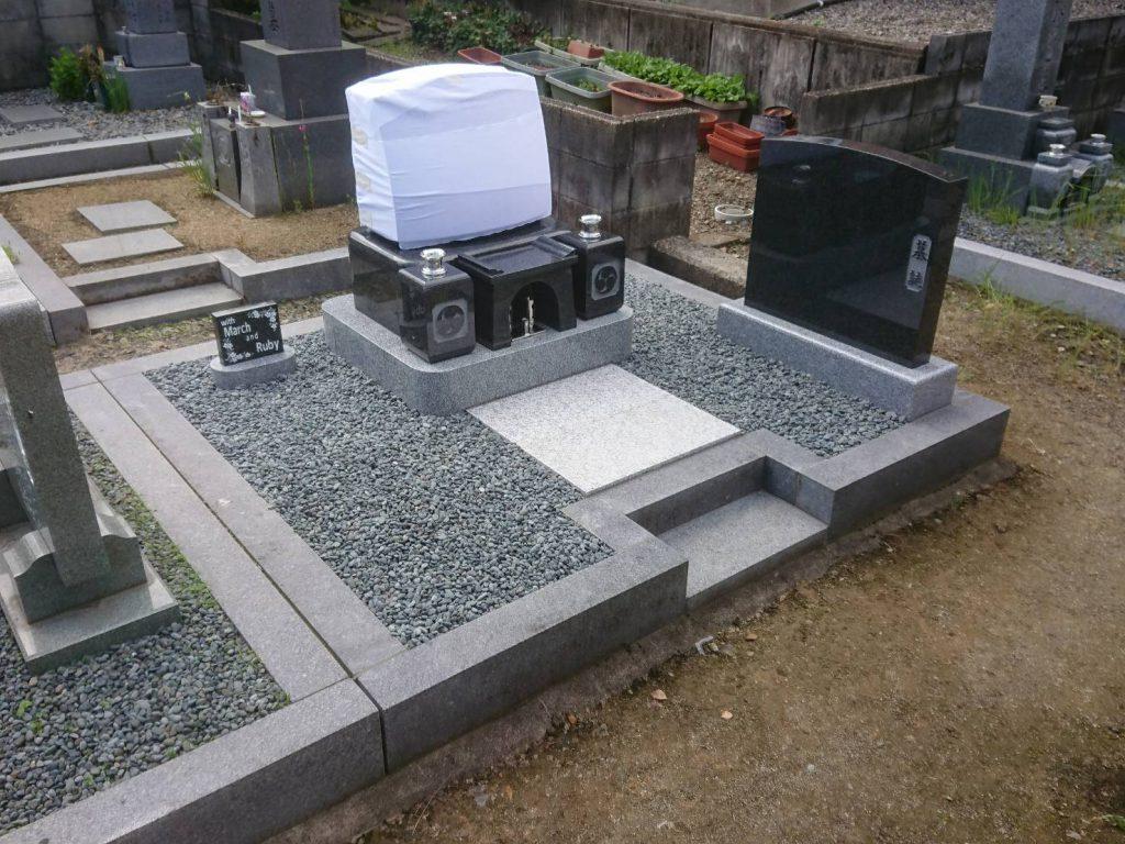 洋型デザイン墓石