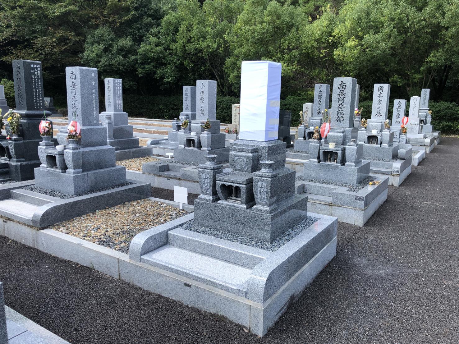 墓石と外柵工事