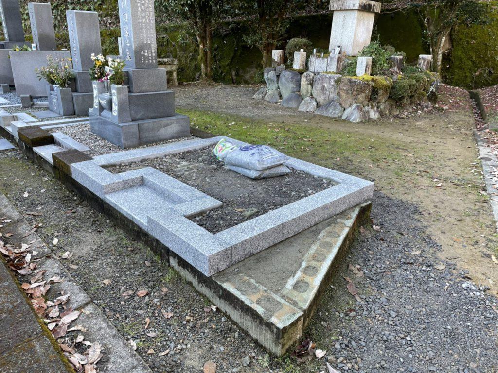 墓石外柵工事