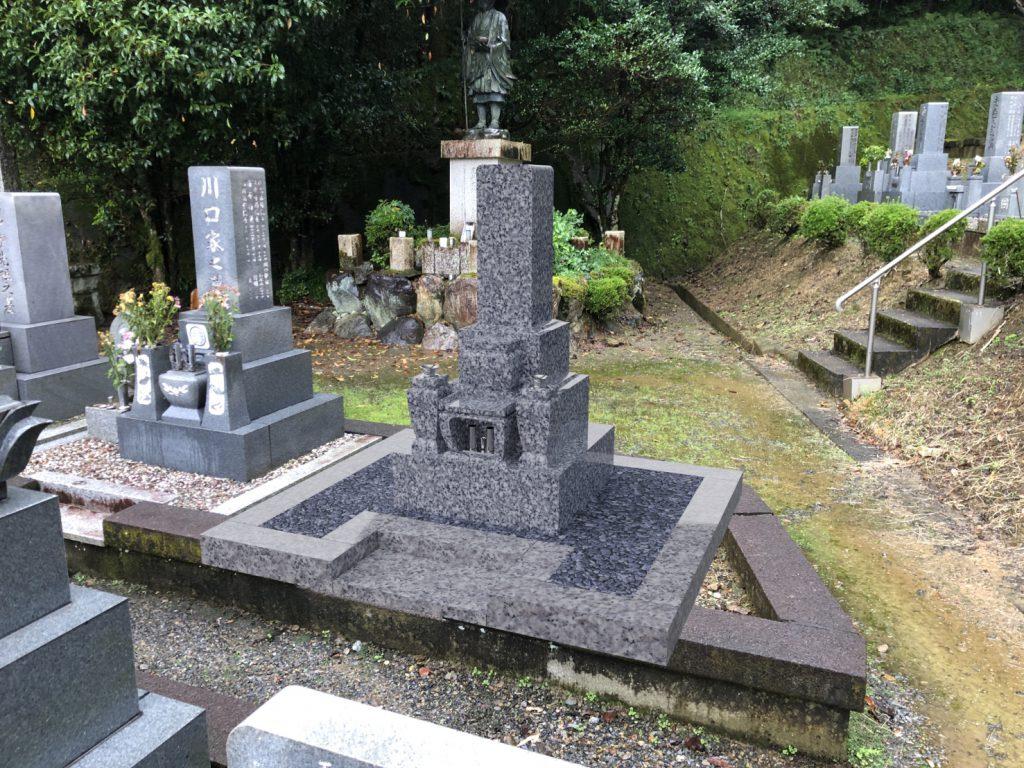 墓石CADとCGによる背景合成