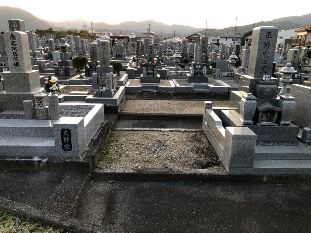 大龍寺墓地 お客様墓所