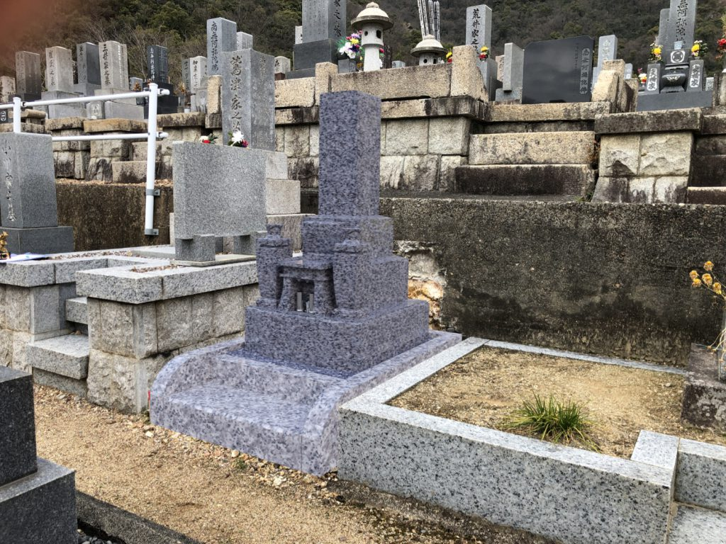 墓石CG背景合成