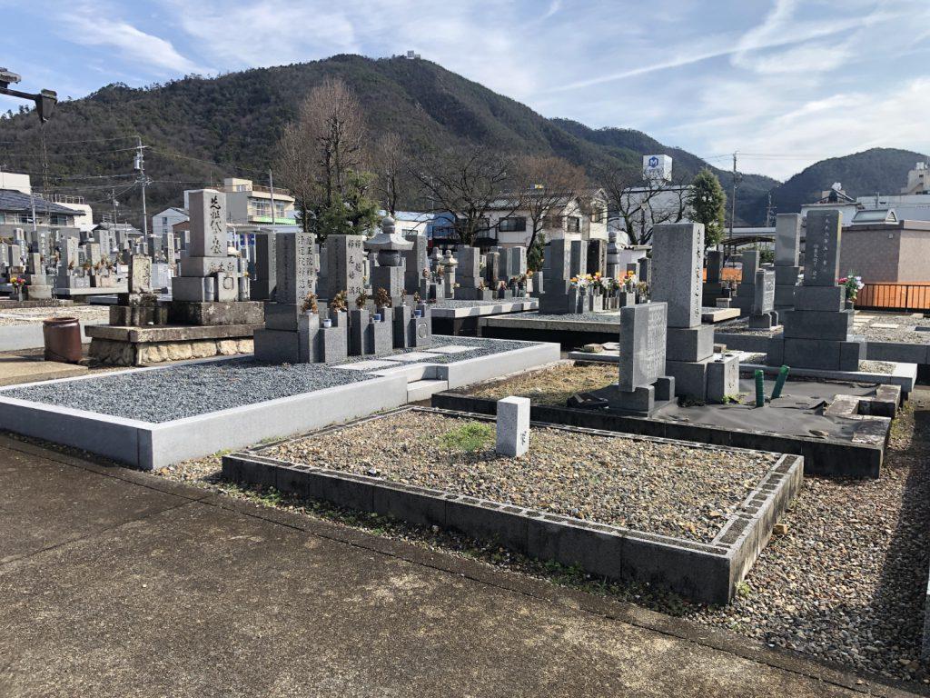 松原墓地 施主様墓所