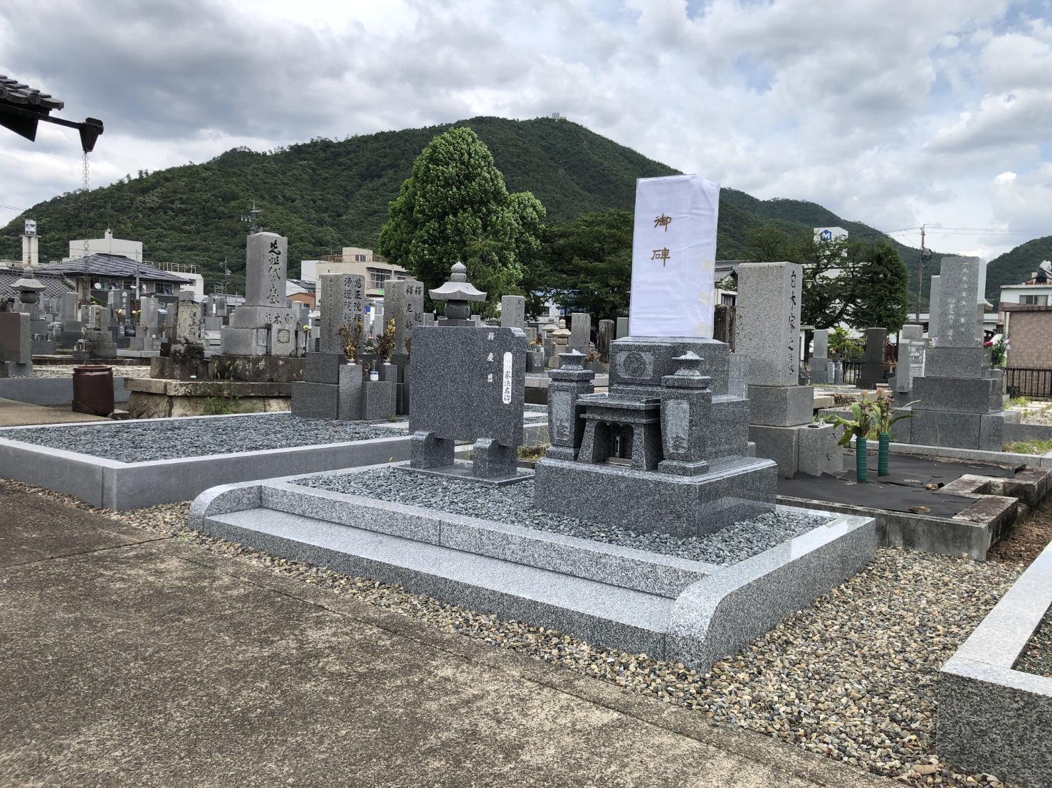 墓石工事完成