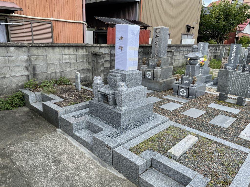 吉祥型墓石